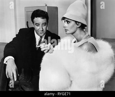 PETER SELLERS, SOPHIA LOREN, THE MILLIONAIRESS, 1960 - Stock Photo