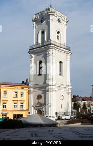 Centre of Przemysl city in Poland, Podkarpackie, Europe. - Stock Photo