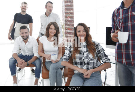 successful employees design Agency - Stock Photo