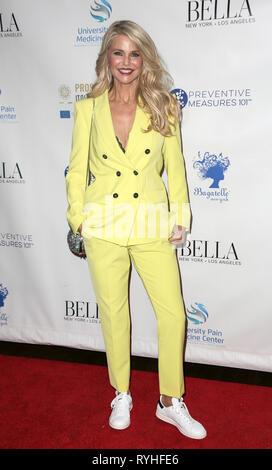 New York, NY - March 13, 2019: Christie Brinkley hosts Bella New York's influencer issue launch party at Bagatelle Credit: lev radin/Alamy Live News - Stock Photo