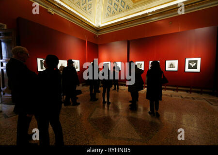 Foto Cecilia Fabiano  - LaPresse 14-03-2019 Roma ( Italia ) Cronaca: Robert Mapplethrope alla galleria Corsini Nella foto :   le foto esposte all'interno della permanente di galleria Corsini Photo Cecilia Fabiano - LaPresse March  14, 2019 Rome ( Italy ) News: Ropbert Mapplethrope exposed in the galleria Corsini In the pic: The pictures included in the local exposition in palazzo Corsini - Stock Photo