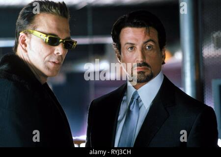 MICKEY ROURKE, SYLVESTER STALLONE, GET CARTER, 2000 - Stock Photo