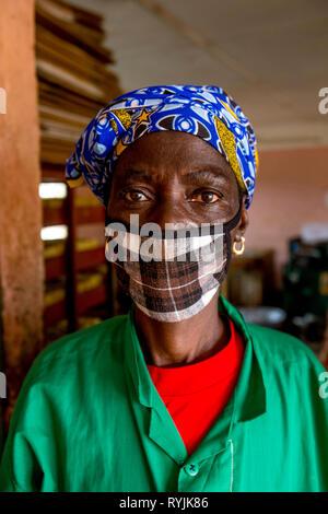 Vocational training center in Ouahigouya, Burkina Faso. - Stock Photo