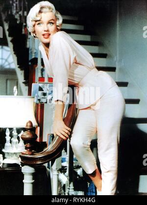 MARILYN MONROE, THE SEVEN YEAR ITCH, 1955 - Stock Photo