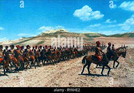 BATTLE SCENE, THE CHARGE OF THE LIGHT BRIGADE, 1968 - Stock Photo