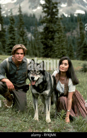 BAIRSTOW,CRAIG, WHITE FANG 2: MYTH OF THE WHITE WOLF, 1994 - Stock Photo