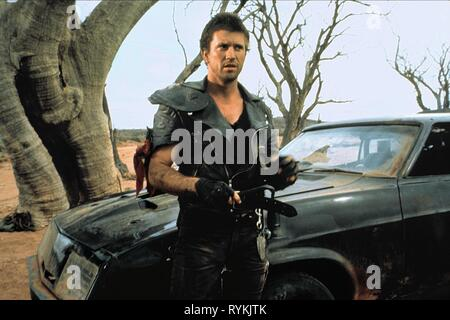 MEL GIBSON, MAD MAX 2: THE ROAD WARRIOR, 1981 - Stock Photo