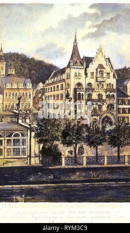 Hotels in Karlovy Vary, Paintings in the Czech Republic