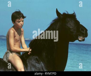 KELLY RENO, THE BLACK STALLION, 1979 - Stock Photo