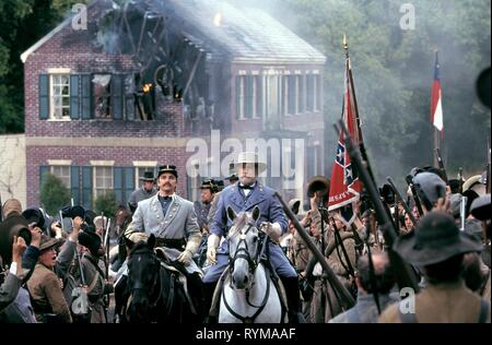 BRINKMAN,DUVALL, GODS AND GENERALS, 2003 - Stock Photo