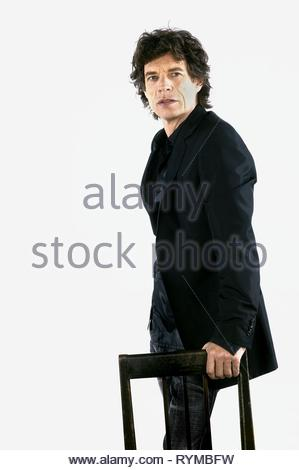 MICK JAGGER, BEING MICK, 2001 - Stock Photo