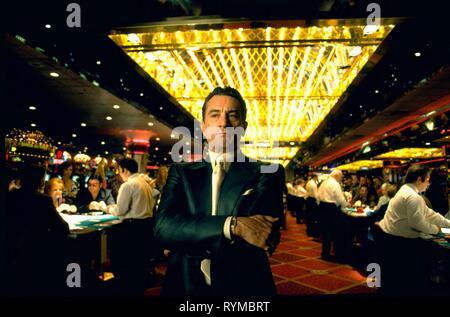 ROBERT DE NIRO, CASINO, 1995 - Stock Photo