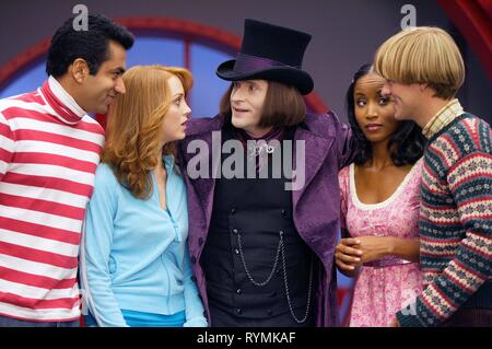PENN,MAYS,GLOVER,CHAMBERS,CAMPBELL, EPIC MOVIE, 2007 - Stock Photo