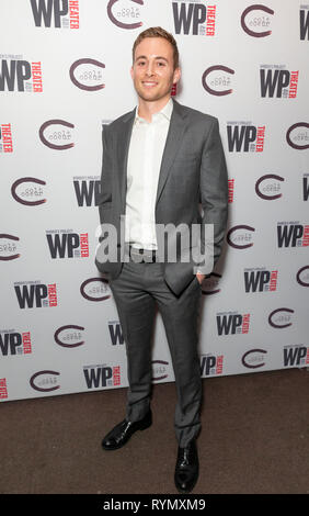 NEW YORK, NY - MARCH 13: Brian Wiles attends 'HATEF**K' Opening Night at WP Theater on March 13, 2019 in New York City. - Stock Photo