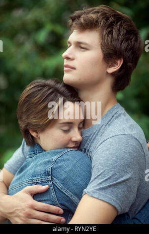WOODLEY,ELGORT, THE FAULT IN OUR STARS, 2014 - Stock Photo
