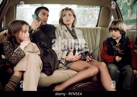 WHITMAN,CLOONEY,PFEIFFER,LINZ, ONE FINE DAY, 1996 - Stock Photo