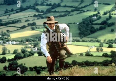 HUGH GRANT, THE ENGLISHMAN WHO WENT UP A HILL BUT CAME DOWN A MOUNTAIN, 1995 - Stock Photo
