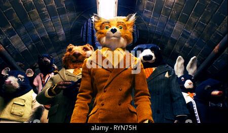 MR. FOX, THE FANTASTIC MR. FOX, 2009 - Stock Photo