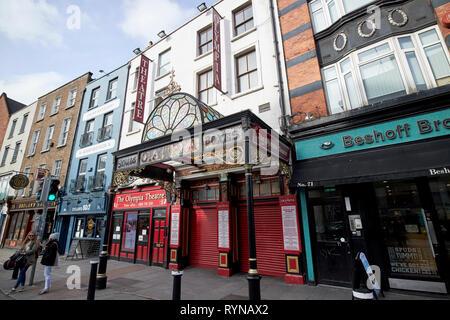 The Olympia Theatre Dame Street Dublin Republic of Ireland Europe - Stock Photo
