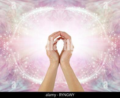 Theta healing therapy Stock Photo: 245994803 - Alamy