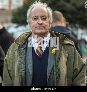 Westminster, London, UK. 14th Mar, 2019. Neil Hamilton, Leader of the UK Independence Party (UKIP) in Wales Credit: Imageplotter/Alamy Live News Stock Photo
