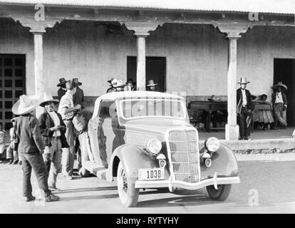 transport / transportation, car, vehicle variants, Ford Model C Junior (1935), in Guatemala, 1951, Additional-Rights-Clearance-Info-Not-Available - Stock Photo
