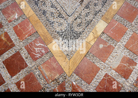 Detail of the floor of streets of Marbella, Malaga. Spain - Stock Photo