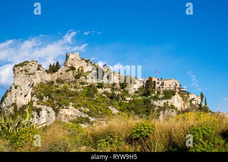 hilltop of Èze, France - Stock Photo