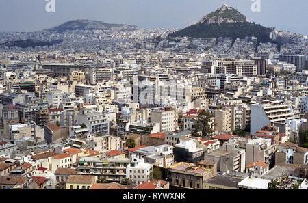 Athens, Greece 1998 - Stock Photo