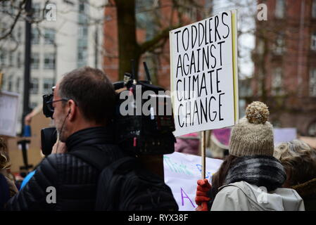 Schools Strike for Climate - Stock Photo