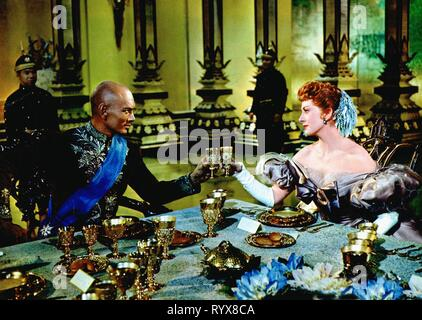 BRYNNER,KERR, THE KING AND I, 1956 - Stock Photo