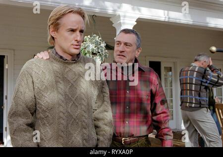OWEN WILSON, ROBERT DE NIRO, MEET THE PARENTS, 2000 - Stock Photo