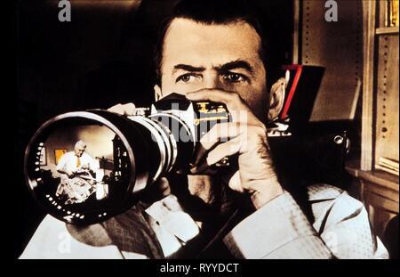 JAMES STEWART, REAR WINDOW, 1954 - Stock Photo