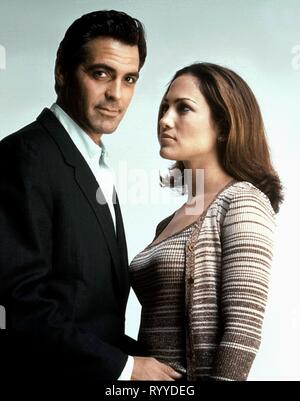 CLOONEY,LOPEZ, OUT OF SIGHT, 1998 - Stock Photo
