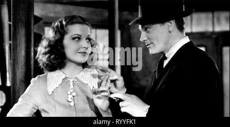 ANN SHERIDAN,JAMES CAGNEY, ANGELS WITH DIRTY FACES, 1938 - Stock Photo
