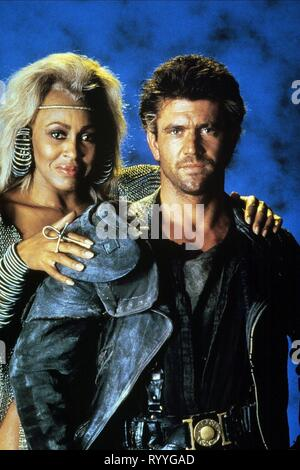 TURNER,GIBSON, MAD MAX BEYOND THUNDERDOME, 1985 - Stock Photo