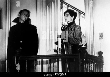 CRENNA,HEPBURN, WAIT UNTIL DARK, 1967 - Stock Photo