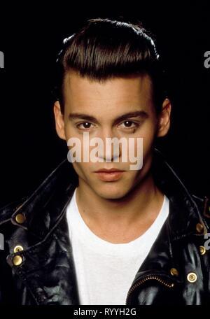 JOHNNY DEPP, CRY-BABY, 1990 - Stock Photo