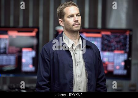 PAUL WALKER, FAST and FURIOUS 6, 2013 - Stock Photo