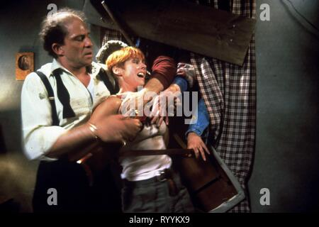 TOM TOWLES, PATRICIA TALLMAN, NIGHT OF THE LIVING DEAD, 1990 - Stock Photo