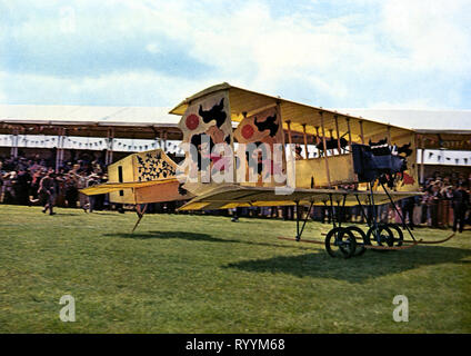 AIROPLANE, THOSE MAGNIFICENT MEN IN THEIR FLYING MACHINES  OR HOW I FLEW FROM LONDON TO PARIS IN 25 HOURS 11 MI, 1965 - Stock Photo