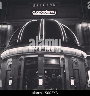 Brixton O2 Academy before Tom Odell show - Stock Photo