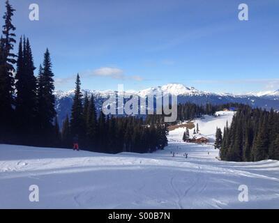 Whistler-Blackcomb, BC Canada - Stock Photo