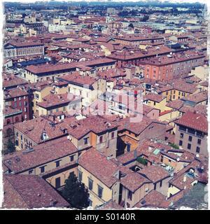 Italian roofs - Stock Photo