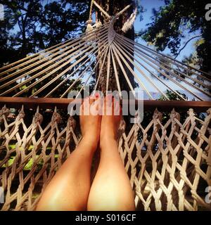 Hammock Holiday - Stock Photo