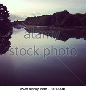River Lee, Cork, Ireland - Stock Photo