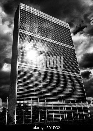 UN headquarters, New York - Stock Photo