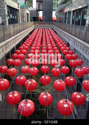 An array of Chinese New Year Lanterns