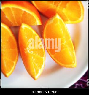 Fresh Oranges - Stock Photo