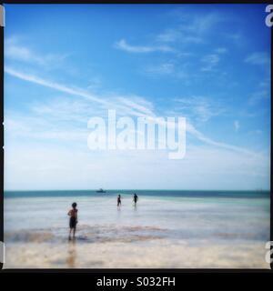 Beach in Key West, Florida - Stock Photo
